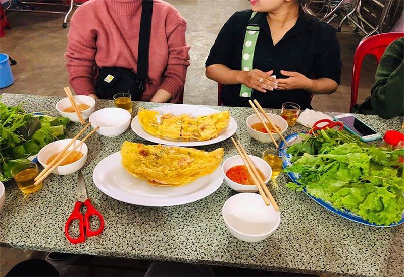 Bánh xèo chảo Cô Bình