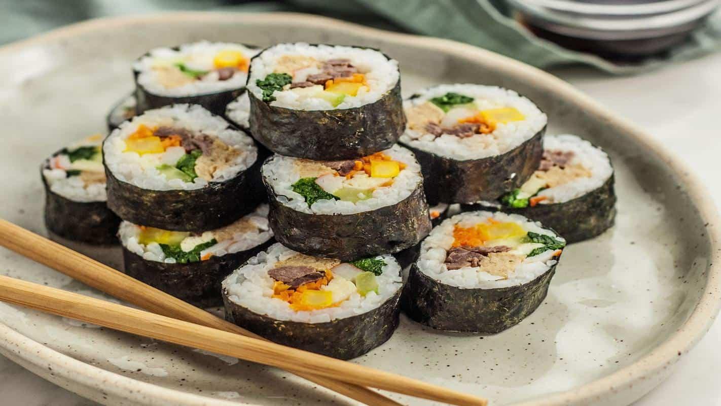 Korean Gimbab