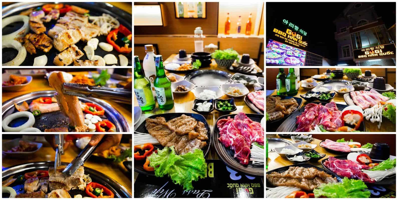 Korean restaurant in Da Lat