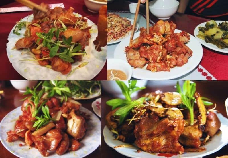 các quán ăn ngon tại mộc châu