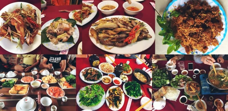 nhà hàng Hương Núi