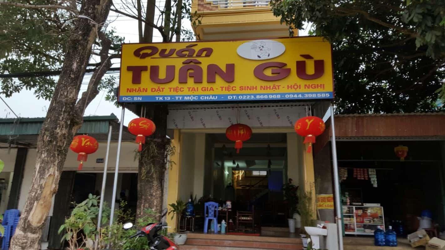 địa chỉ quán ăn ngon ở mộc châu