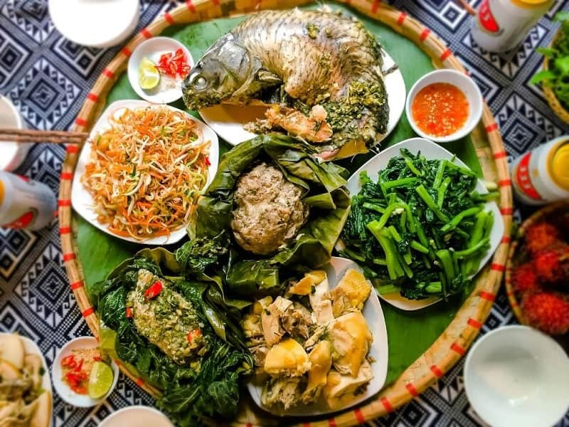 các quán ăn ở mộc châu