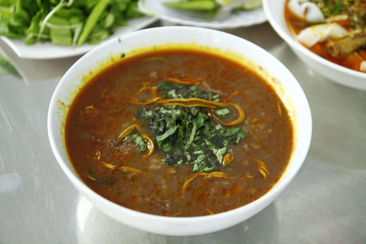 Cháo lươn và bánh canh Quảng Bình đà nẵng