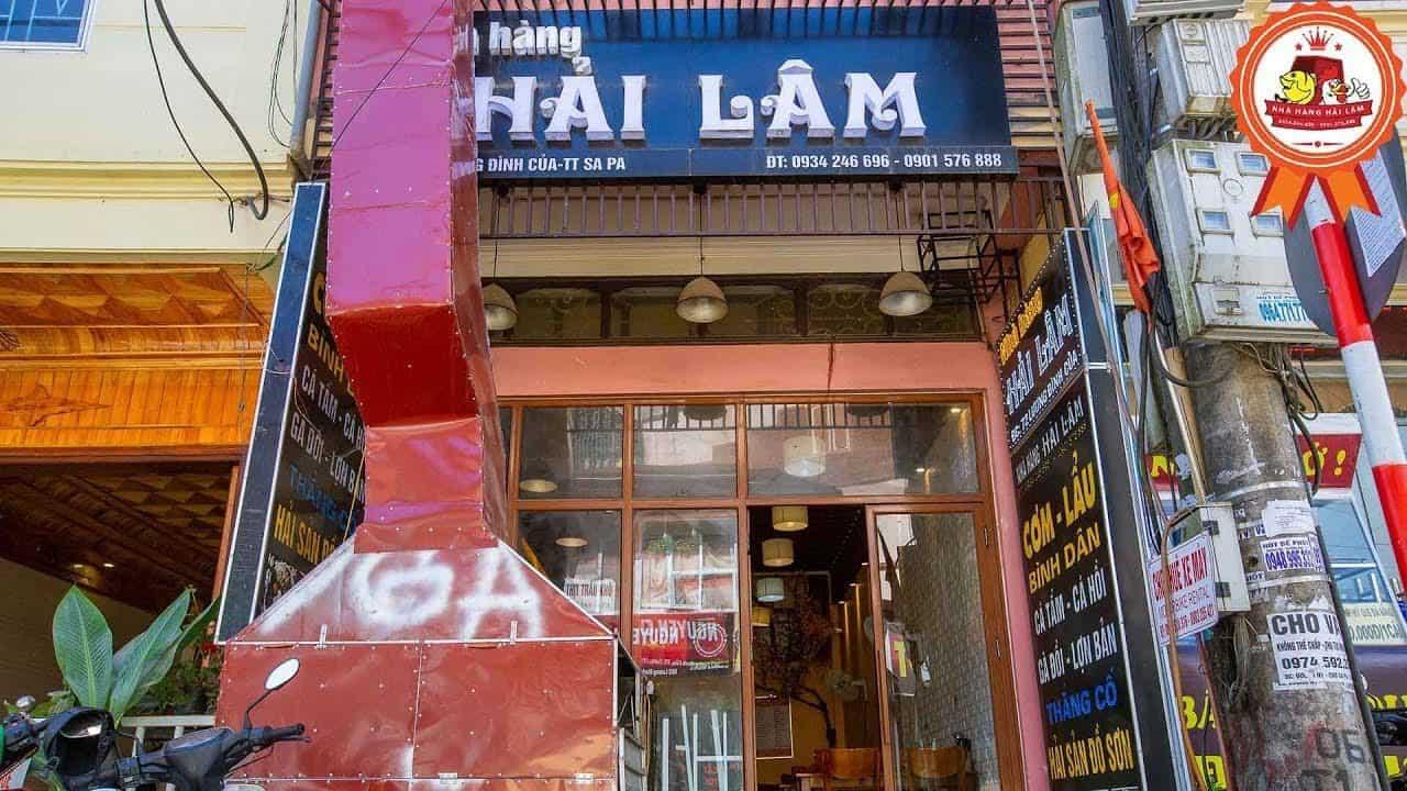 nhà hàng Hải Lâm