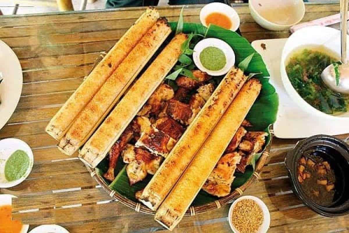 Quán cơm lam gà nướng ngon Kim Gia
