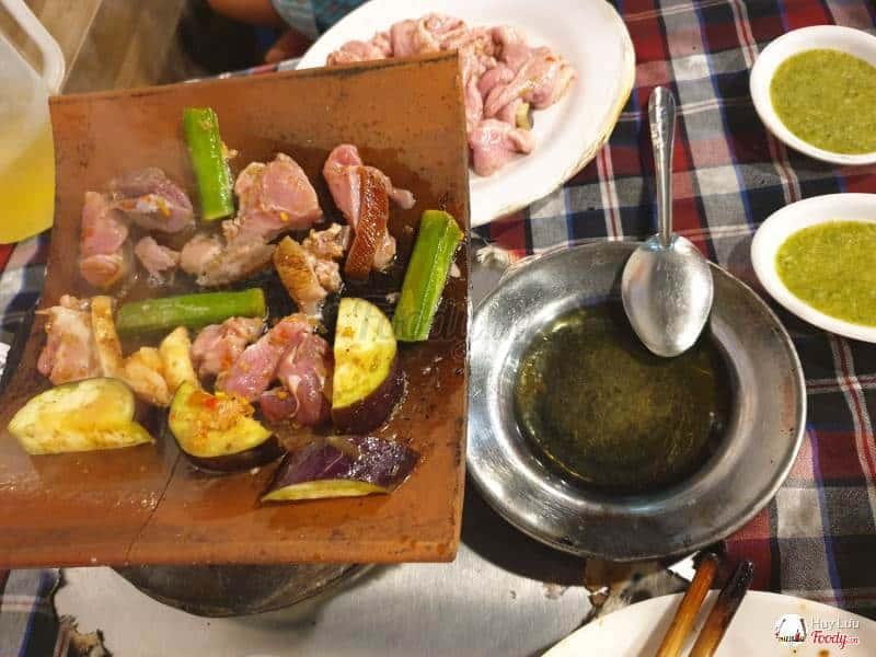 quán nướng ngói ngon ở Đà Lạt