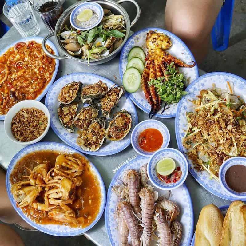 Quán nhậu Hoa Mập rẻ tại Đà Nẵng
