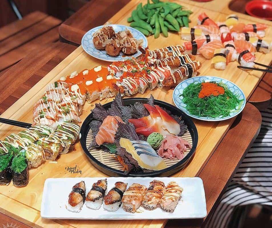 Quán Fune Sushi & Sashimi ngon ở Đà Nẵng