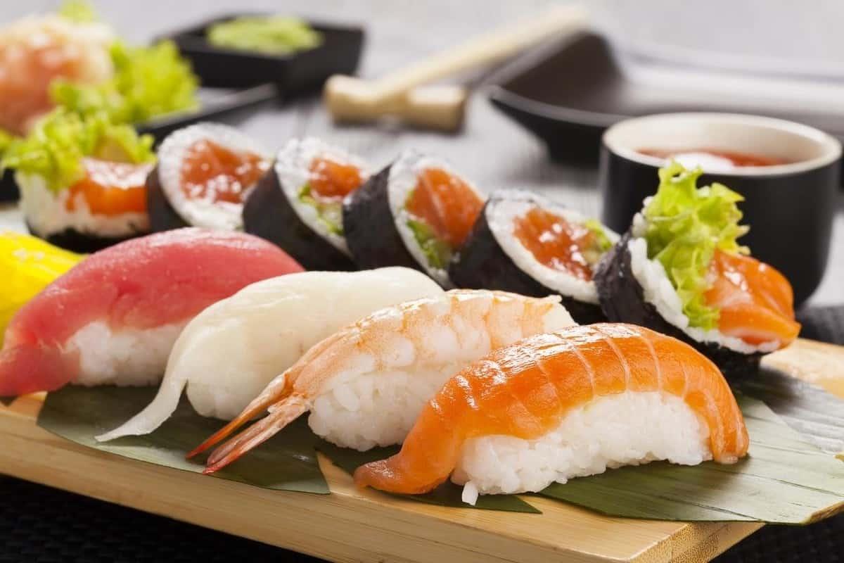 sashimi hải sản