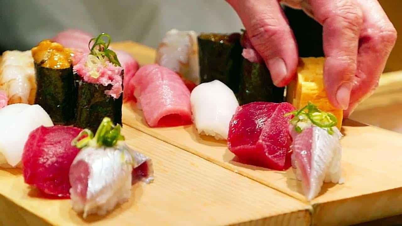 sashimi tại Kita Guni