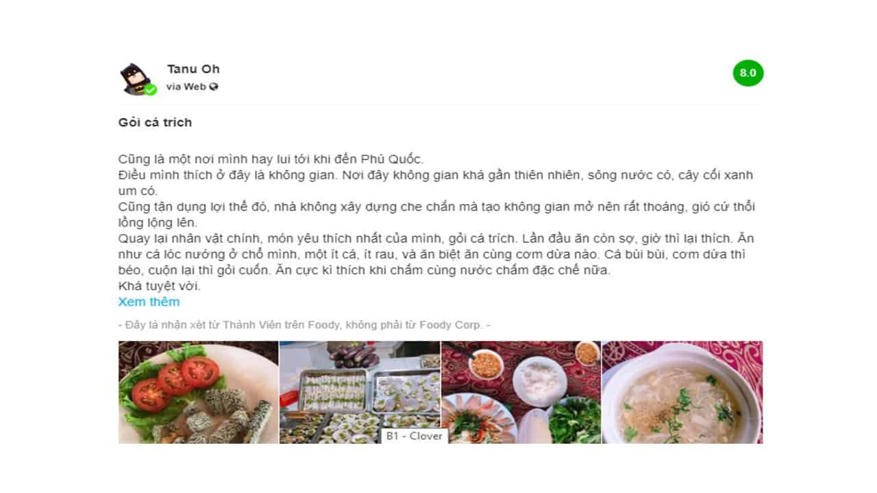 Hải sản ngon Phú Quốc