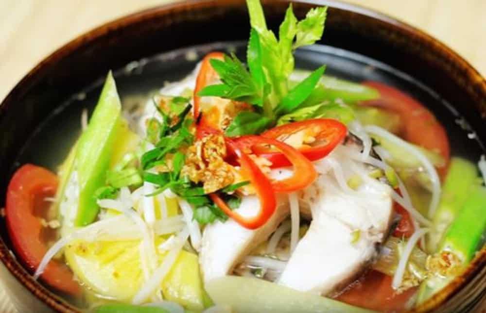 Canh chua - Món ngon dân dã ở Sông Xanh Phú Quốc