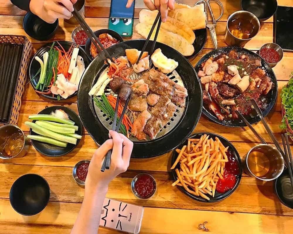 quán ăn hàn ở Đà Lạt