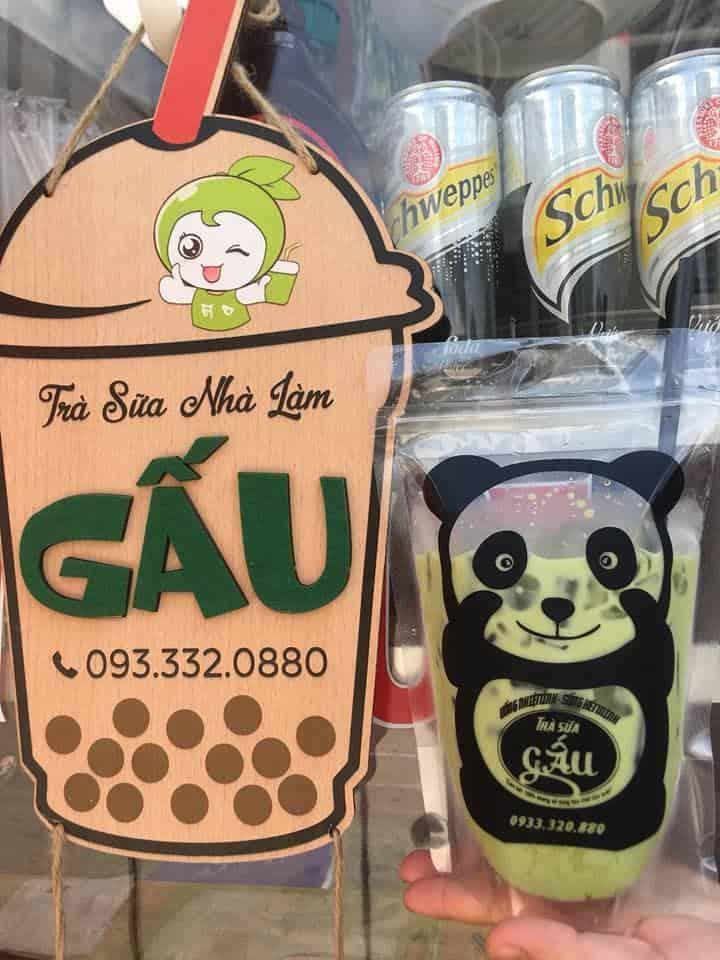 Gấu - Quán trà sữa nhà làm ở Phú Quốc