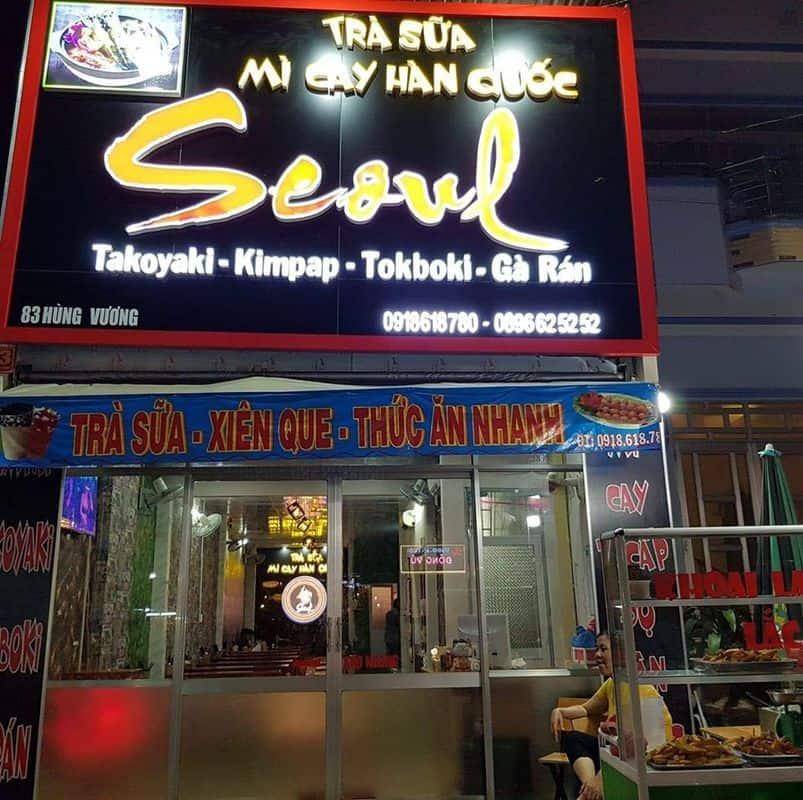 Trà sữa – Mỳ cay Hàn Quốc Seoul tại Phú Quốc