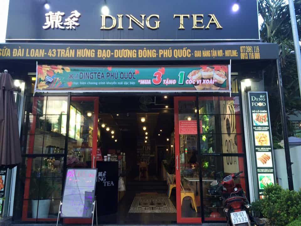 Quán trà sữa ngon, rẻ tại Phú Quốc