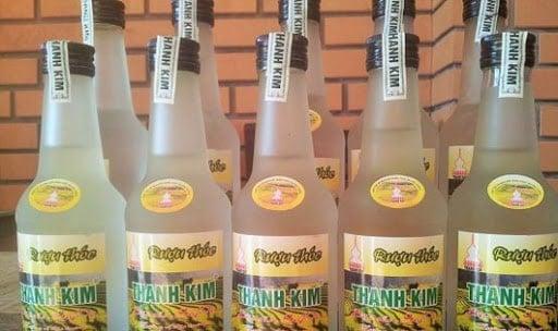 Rượu thóc Thanh Kim