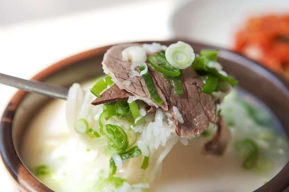 các món ăn hàn quốc de lam