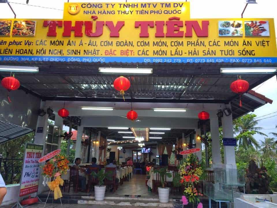 Nhà hàng Thủy Tiên Phú Quốc