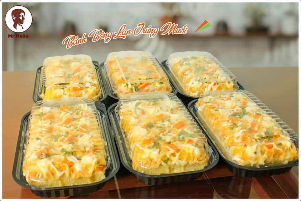 Bánh bông lan trứng muối - Mr. Huân