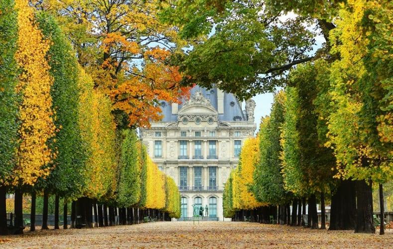 Tham quan vườn Tuileries