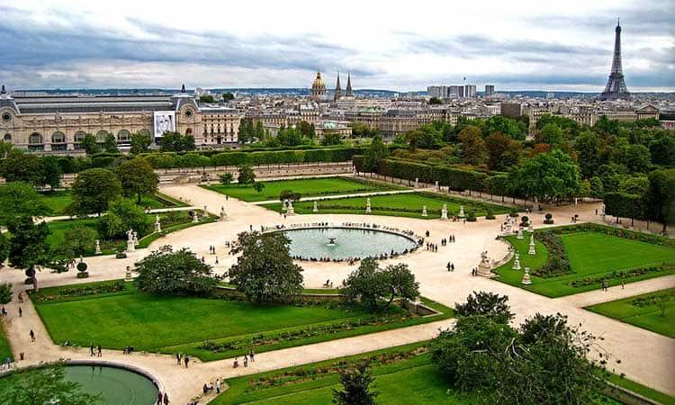 Vườn Tuileries ở Pháp