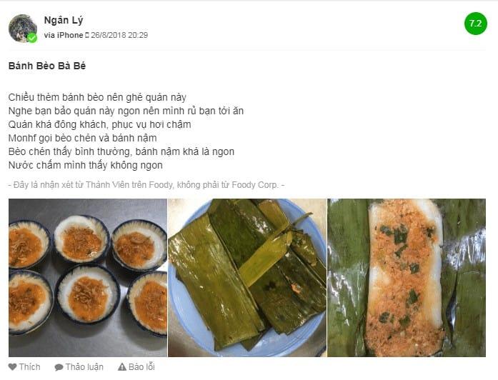 bánh bèo đà nẵng review