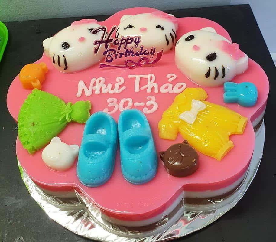 tiệm bánh sinh nhật rau câu ở Đà Nẵng