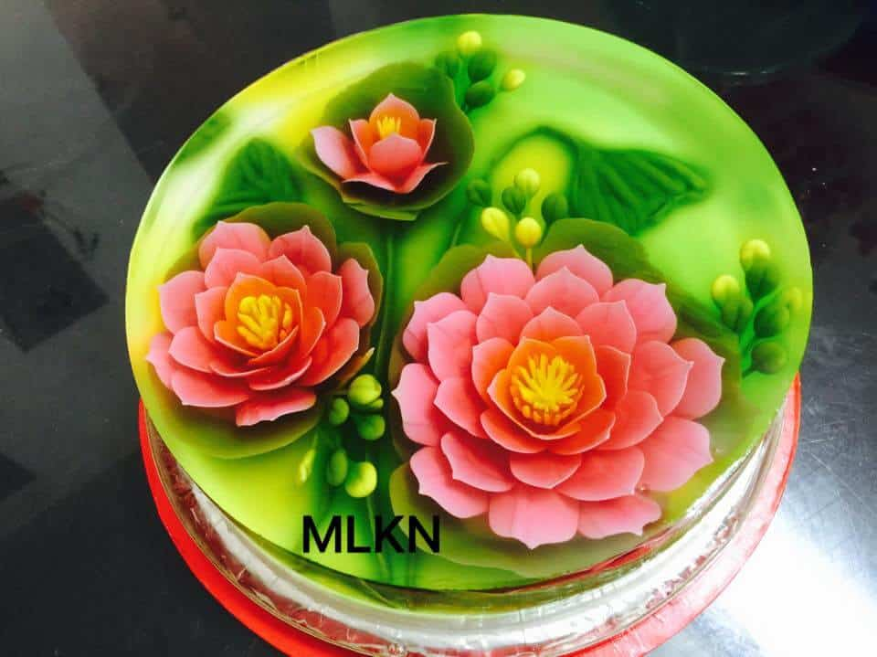bánh sinh nhật rau câu ở Đà Nẵng