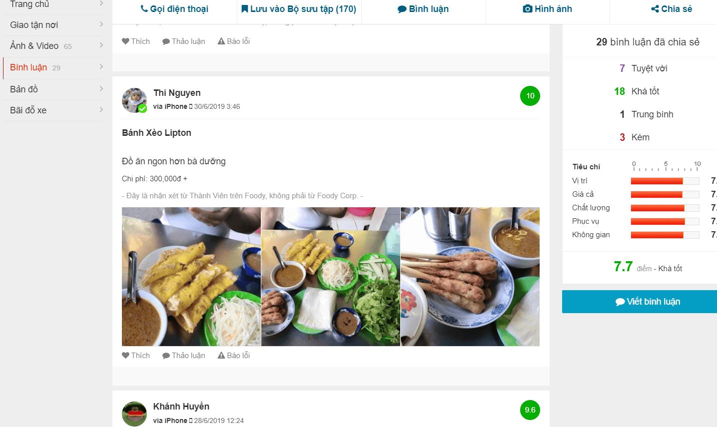 ăn bánh xèo ngon Đà Nẵng