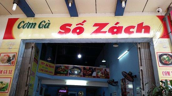 Cơm gà số Zách