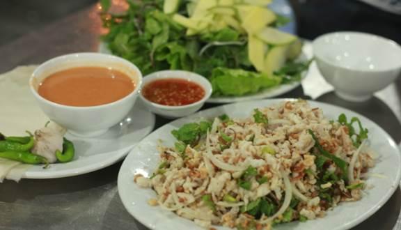 địa chỉ ăn gỏi cá lạc ngon tại Đà Nẵng