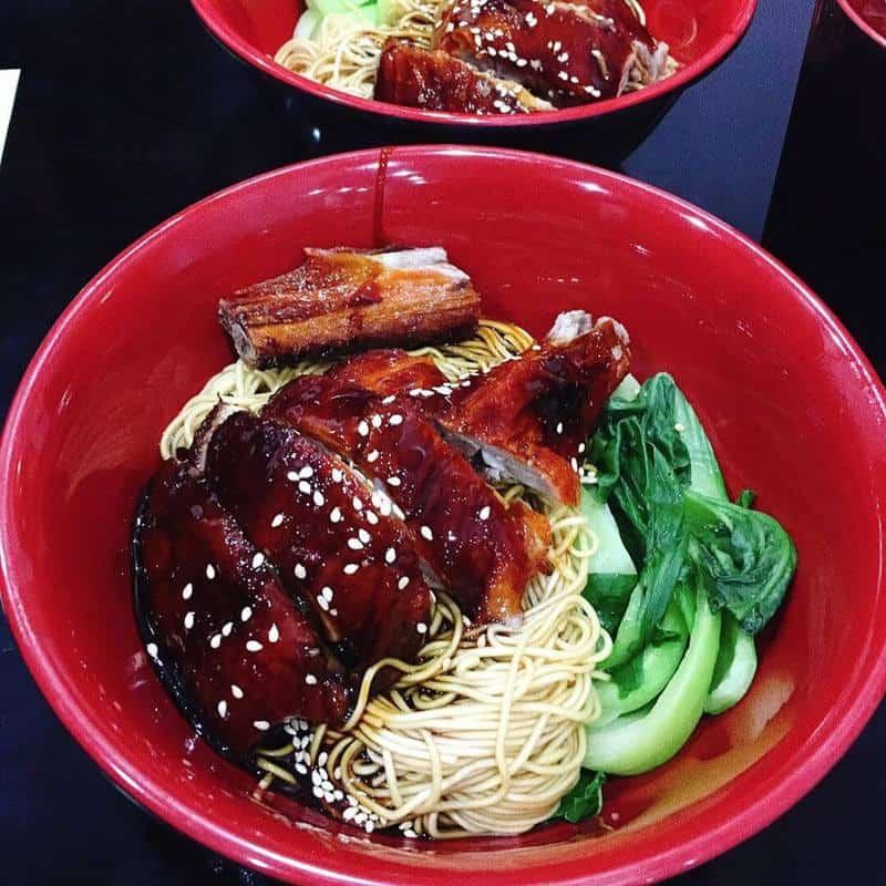 Món ăn đặc trưng Lưu Mì Phát Quán