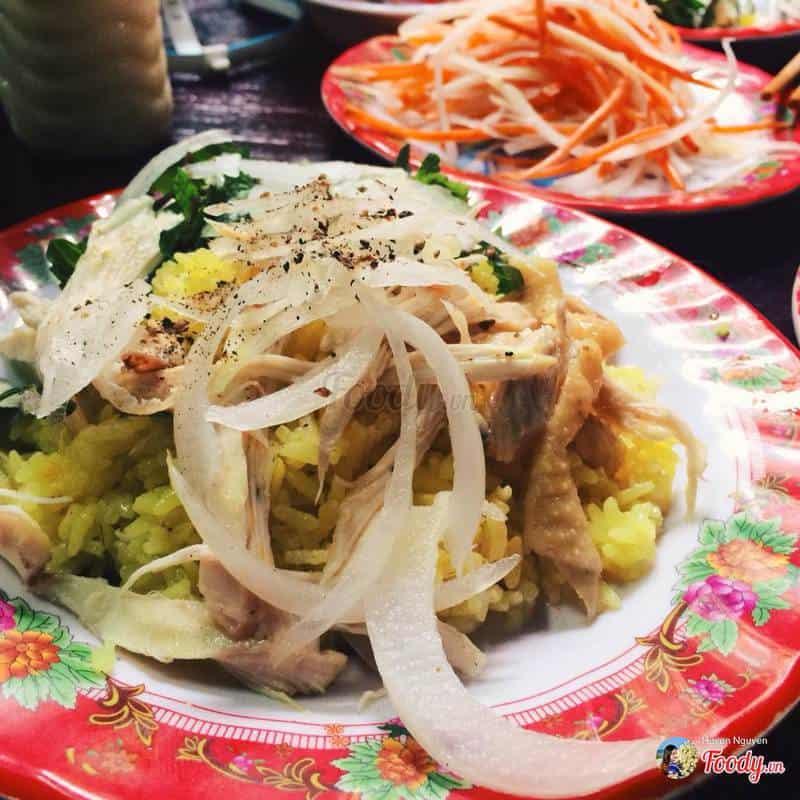 quán xôi gà ngon ở Đà nẵng