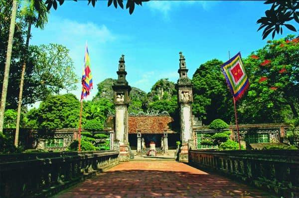 Đền thờ Vua Đinh, Vua Lê