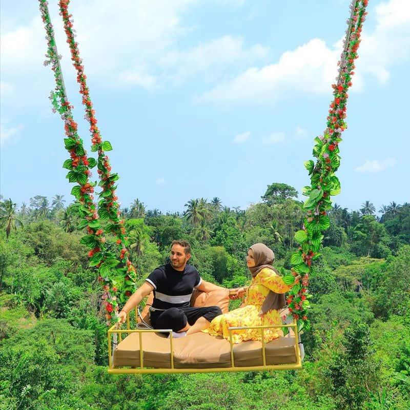 chơi đu dây Bali Swing