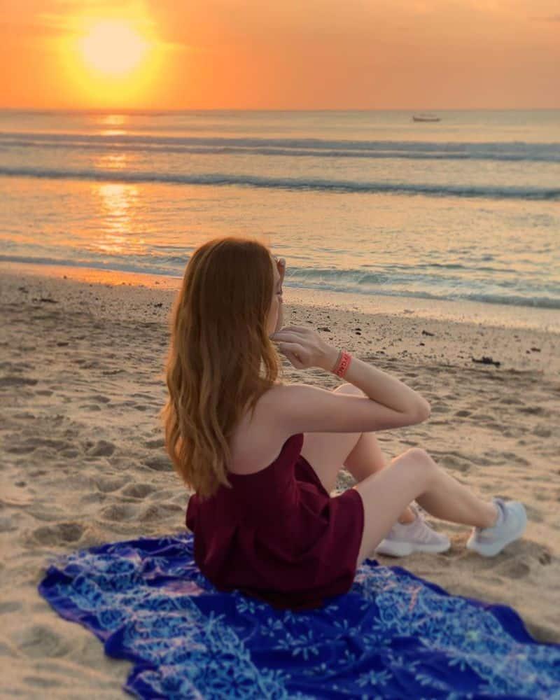 bãi biển Kuta Bali