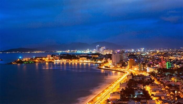 thành phố Nha Trang về đêm