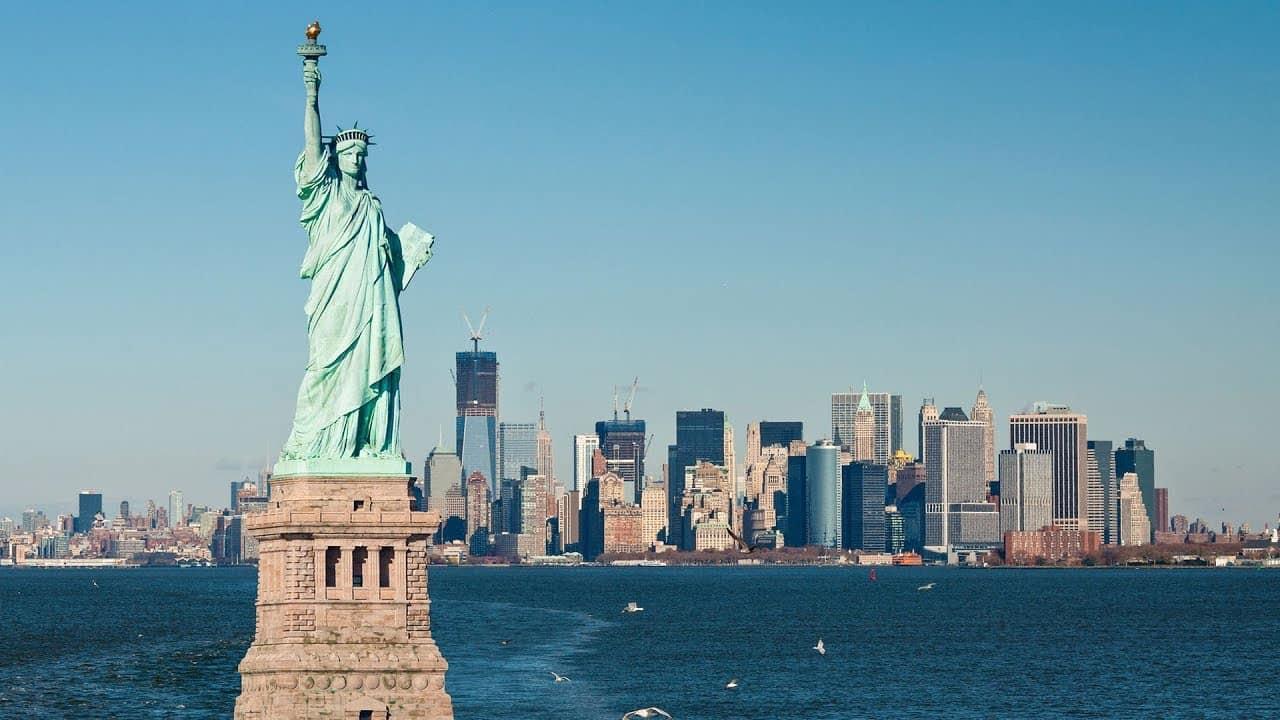 Tượng nữ thần tự do nước Mỹ