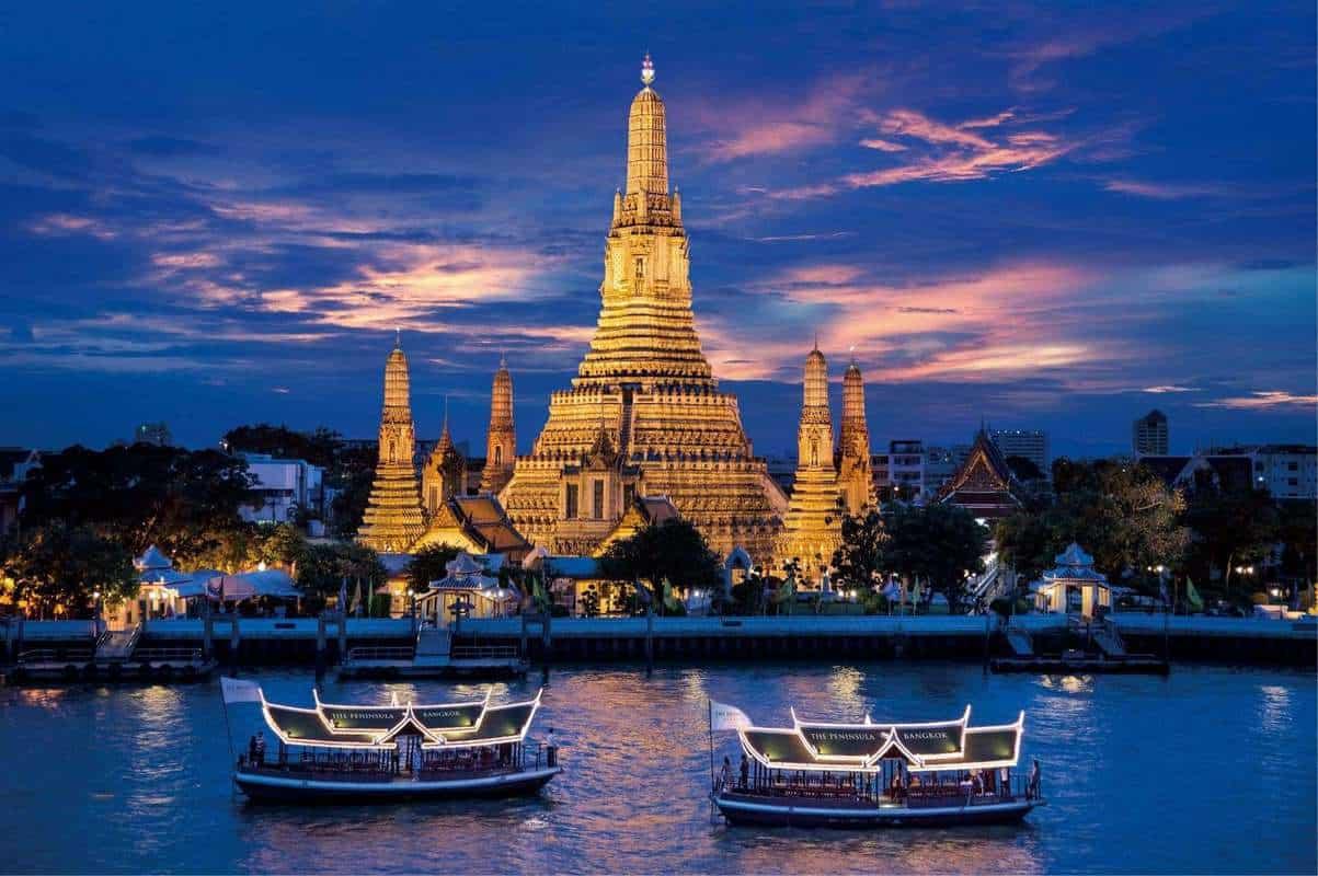 Đi du thuyền sông Chao Phraya