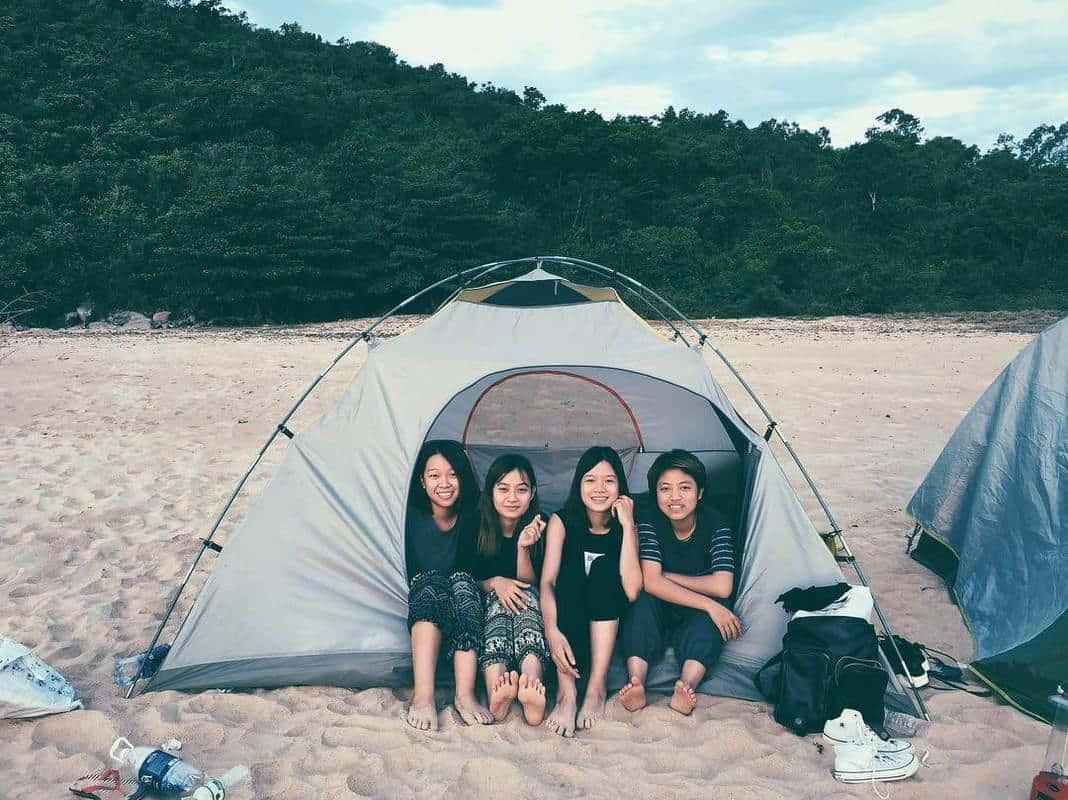 cắm trại làng vân đà nẵng