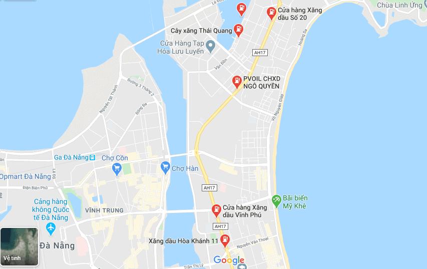 cây xăng Đà Nẵng