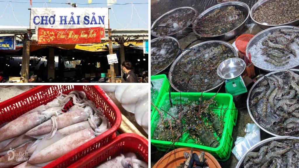 chợ hải sản nổi tiếng đà nẵng