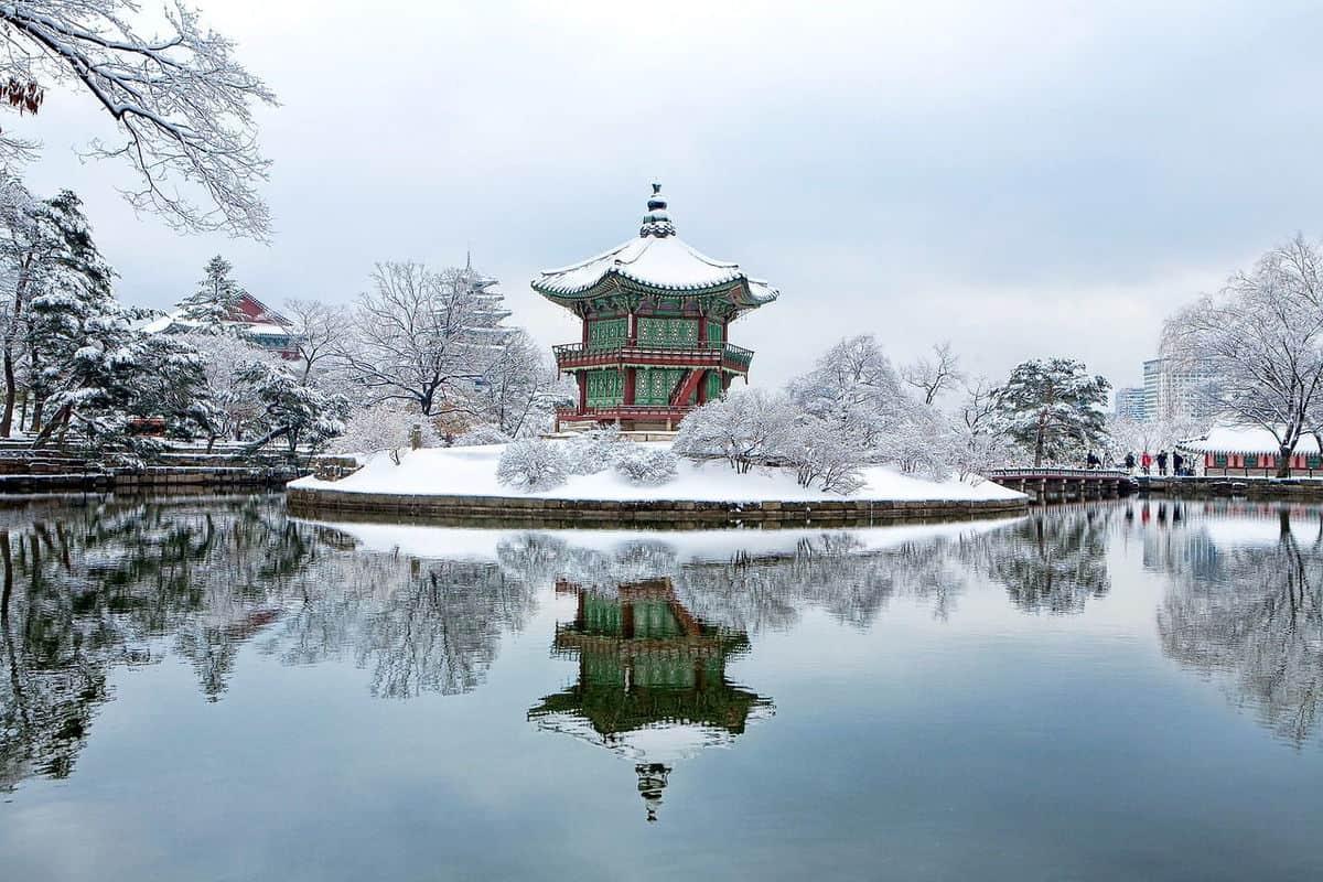 tour du lịch hàn quốc mùa đông