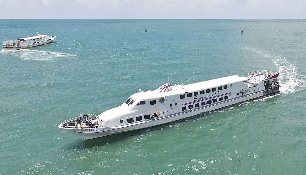 tàu cao tốc nam du phú quốc