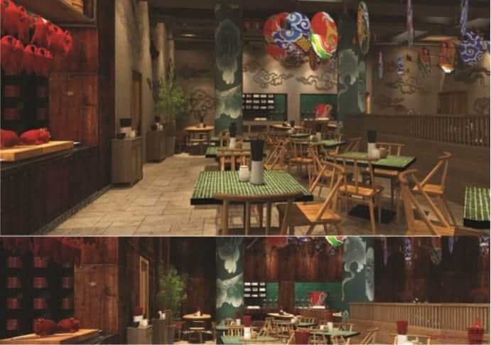 nhà hàng tại bà nà hill