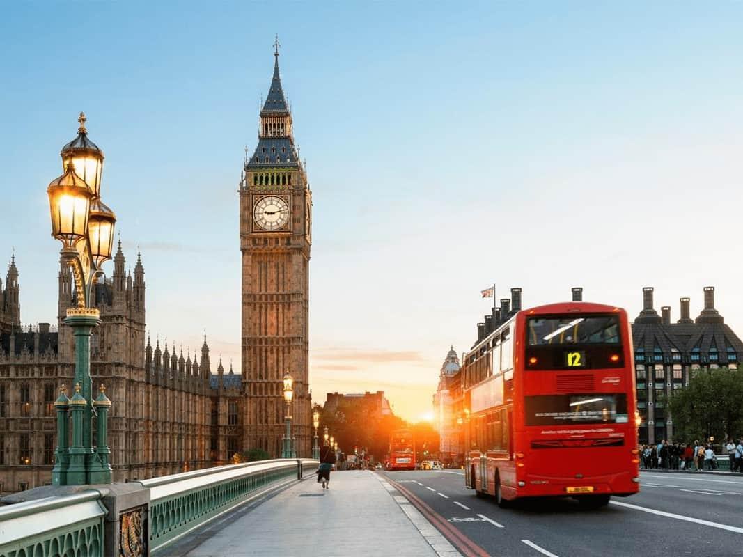 Đi du lịch tại Anh