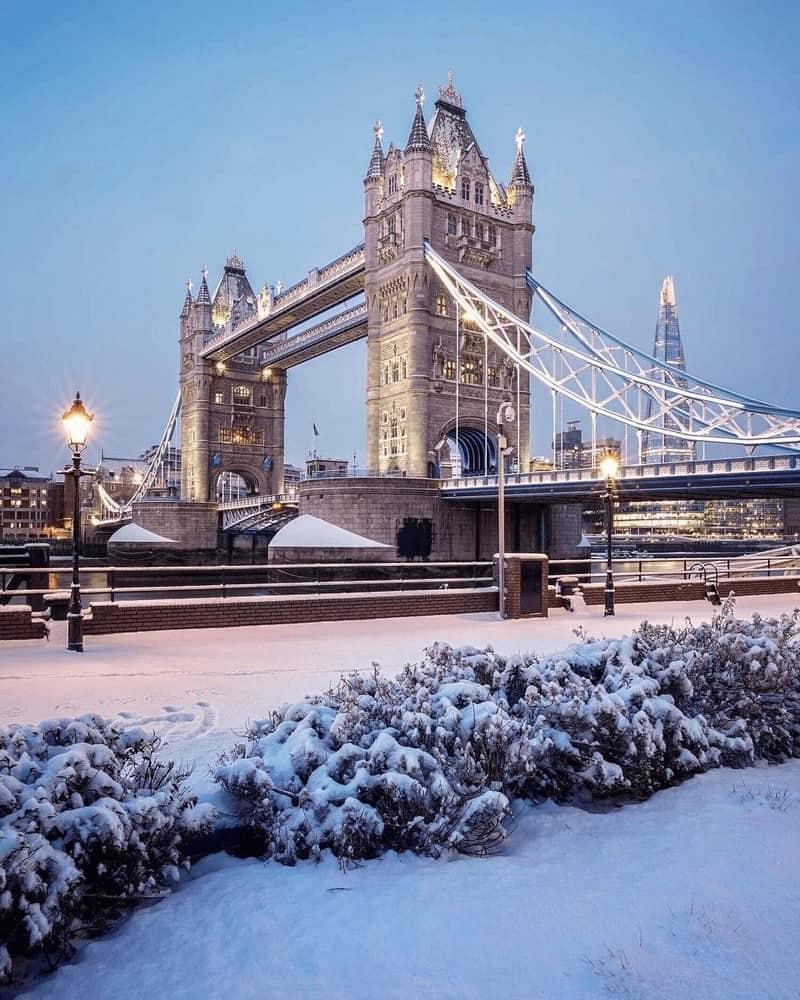 Đi du lịch ở Anh