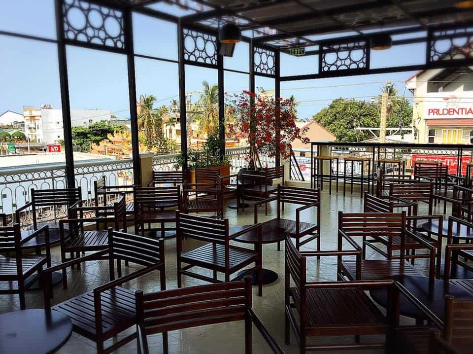 quán cafe bãi biển ở phú quốc